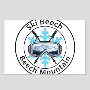 Ski Beech - Beech Mount Postcards (Package of 8)