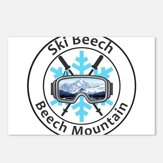 Ski Beech - Beech Mount Postcards (Package of 8)