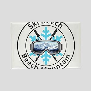 Ski Beech - Beech Mountain - North Carol Magnets