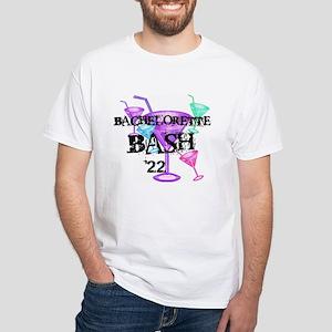 Cocktails Bachelorette Bash 17 White T-Shirt