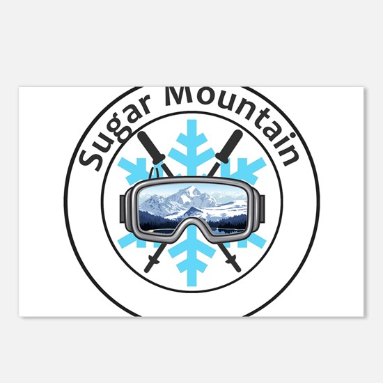 Sugar Mountain - Sugar Postcards (Package of 8)