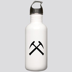 Crossed Rock Hammers Stainless Water Bottle 1.0L