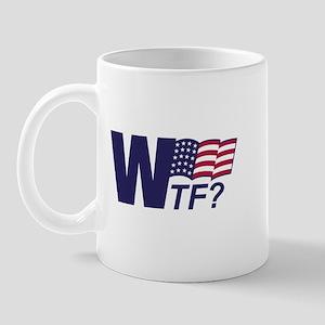 Anti-Bush WTF Mug