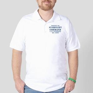 Starfleet Command Golf Shirt