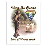 Take The Human For A Walk Small Poster