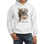 Take The Human For A Walk Hooded Sweatshirt