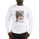 Take The Human For A Walk Long Sleeve T-Shirt