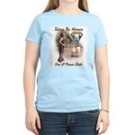 Take The Human For A Walk Women's Light T-Shirt