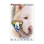 Power Speed Balance Mini Poster Print