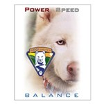 Power Speed Balance Small Poster