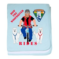 How WoofDriver Rides Infant Blanket