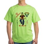 How WoofDriver Rides Green T-Shirt