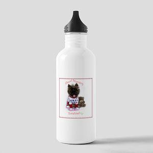 Cairn Terrier Good Mor Stainless Water Bottle 1.0L