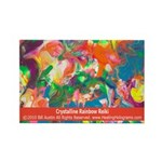 Crystalline Rainbow Reiki Magnet