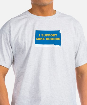 Mike Rounds Ash Grey T-Shirt