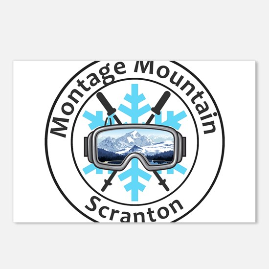 Montage Mountain Ski Reso Postcards (Package of 8)