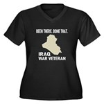 Iraq War Veteran Plus Size T-Shirt
