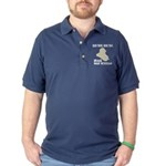 Iraq War Veteran Dark Polo Shirt