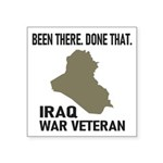 Iraq War Veteran Sticker