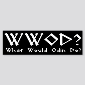 WWOD Bumper Sticker