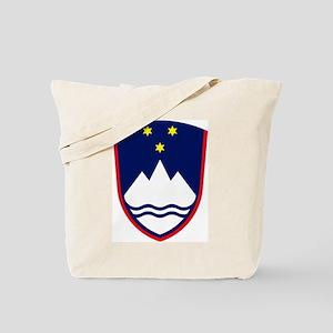 Slovenia Coat of Arms Tote Bag