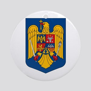 Romania Coat of Arms Ornament (Round)