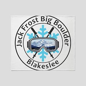 Jack Frost Big Boulder - Blakeslee Throw Blanket
