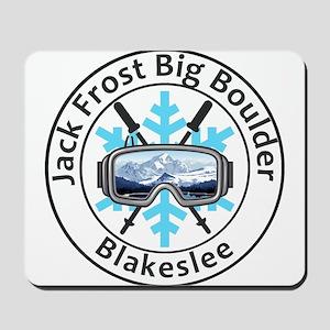 Jack Frost Big Boulder - Blakeslee - P Mousepad
