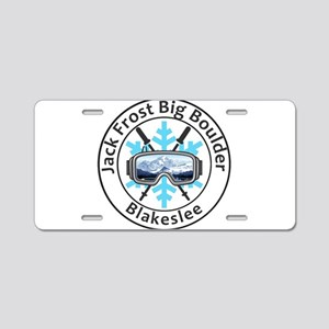 Jack Frost Big Boulder - Aluminum License Plate