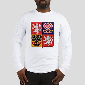 Czech Republic Coat of Arms Long Sleeve T-Shirt