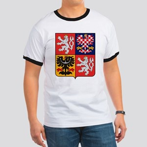 Czech Republic Coat of Arms Ringer T