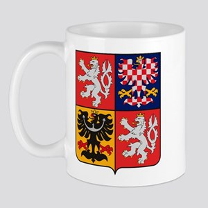 Czech Republic Coat of Arms Mug