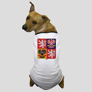 Czech Republic Coat of Arms Dog T-Shirt