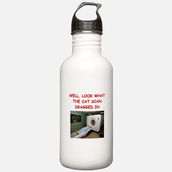 doctor joke Sports Water Bottle