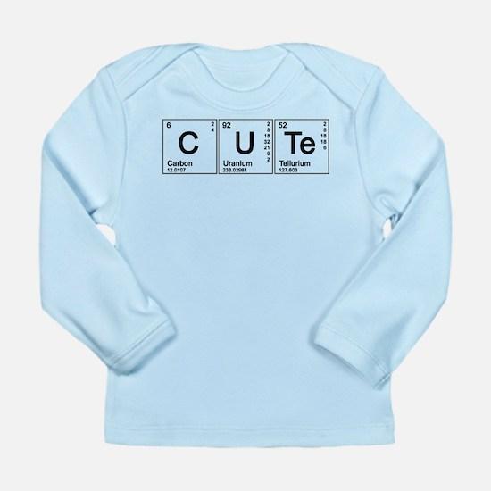 Cute Periodic Long Sleeve Infant T-Shirt