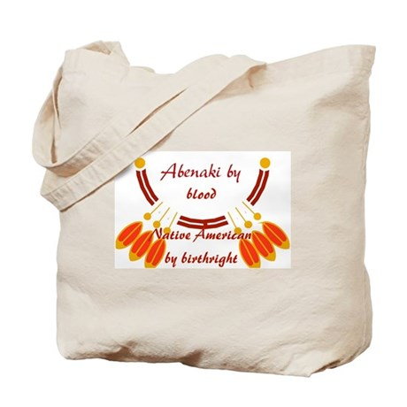 """""""Abenaki"""" Tote Bag"""