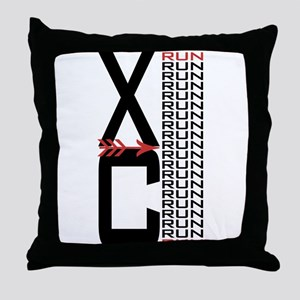 XC Run Run Throw Pillow