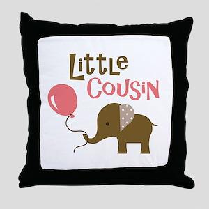 Little Cousin - Mod Elephant Throw Pillow