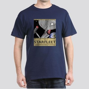 Starfleet Recruitment Dark T-Shirt