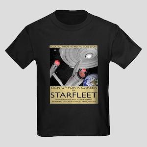 Starfleet Recruitment Kids Dark T-Shirt