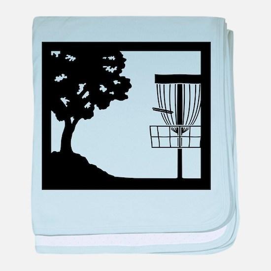 Disc Golf Infant Blanket