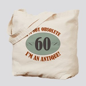 60, Not Obsolete Tote Bag