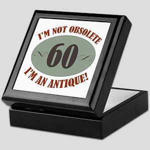 60, Not Obsolete Keepsake Box