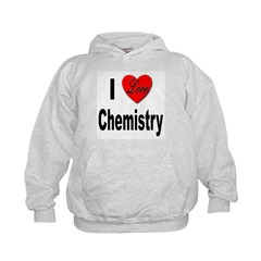 I Love Chemistry (Front) Hoodie