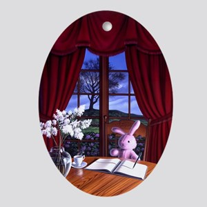 Aunt Dimity's Death Ornament (Oval)