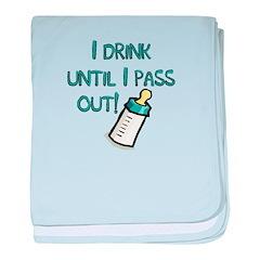 Drink! Infant Blanket