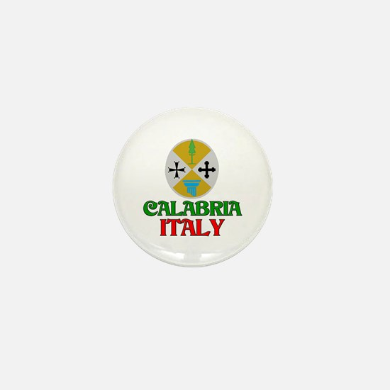 Calabria Italy Mini Button