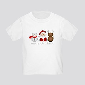 Merry Christmas Characters Toddler T-Shirt