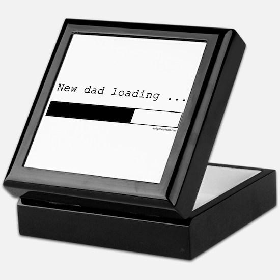 New dad loading Keepsake Box