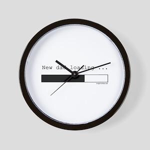 New dad loading Wall Clock